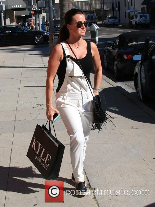 Kyle Richards on Brighton Way after a shopping...