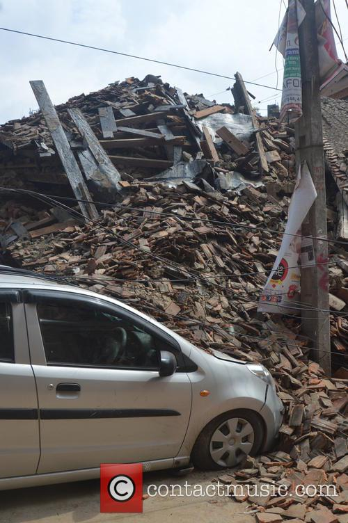 Devastating Scenes and Nepal Earthquake Disaster 5