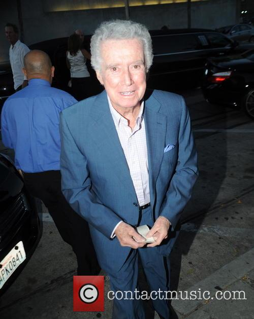 Regis Philbin goes to dinner in Beverly Hills