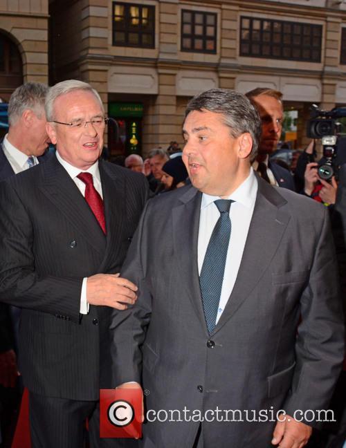 Martin Winterkorn and Sigmar Gabriel 2