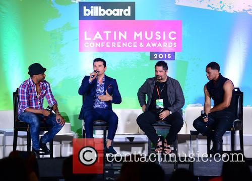 Billboard, Descemer Bueno, Horacio Palencia, Glenn Monroig and Yunel Cruz 2