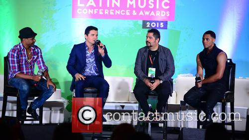 Billboard, Descemer Bueno, Horacio Palencia, Glenn Monroig and Yunel Cruz 3