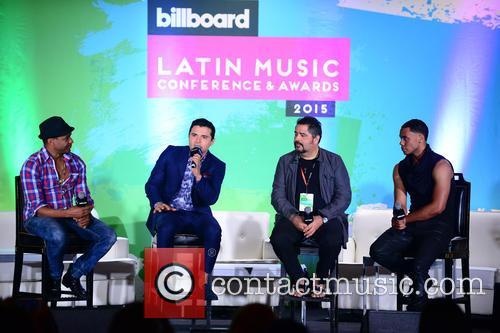 Billboard, Descemer Bueno, Horacio Palencia, Glenn Monroig and Yunel Cruz 4