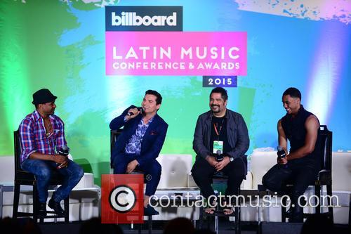 Billboard, Descemer Bueno, Horacio Palencia, Glenn Monroig and Yunel Cruz 5