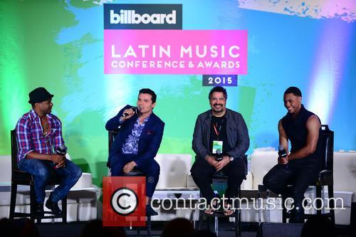 Billboard, Descemer Bueno, Horacio Palencia, Glenn Monroig and Yunel Cruz 6