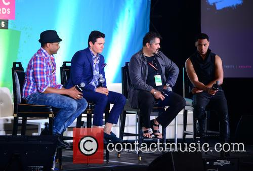 Billboard, Descemer Bueno, Horacio Palencia, Glenn Monroig and Yunel Cruz 9