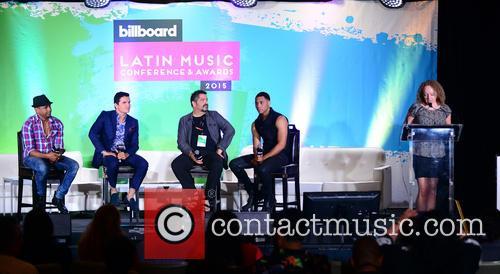 Billboard, Descemer Bueno, Horacio Palencia, Glenn Monroig, Yunel Cruz and Deidve Chadwick 10