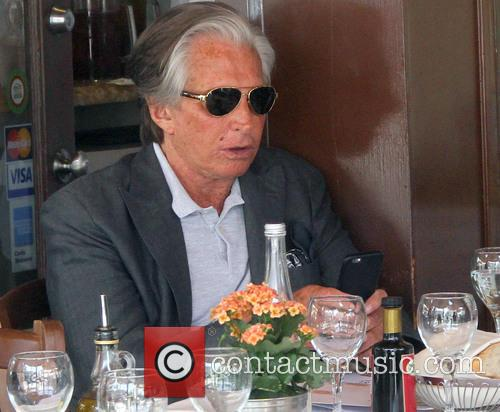 George Hamilton has lunch in Beverly Hills