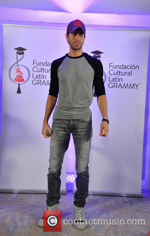 Enrique Iglesias at Latin Grammy Cultural Foundation Awards