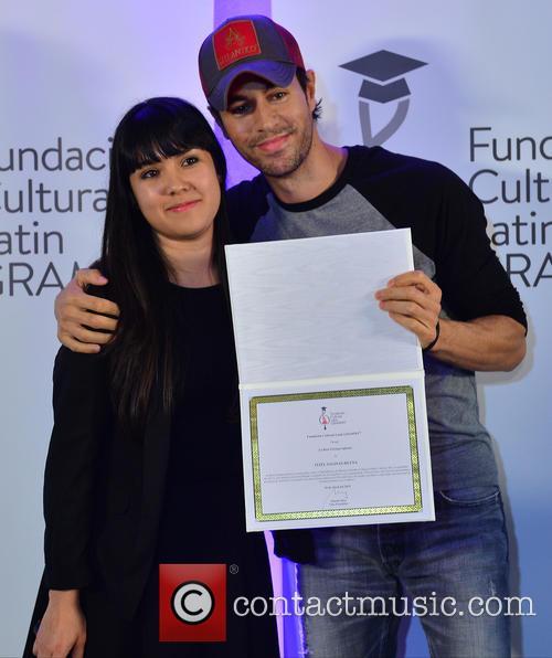 Silviana Itzel Salinas-reyna and Enrique Iglesias 3