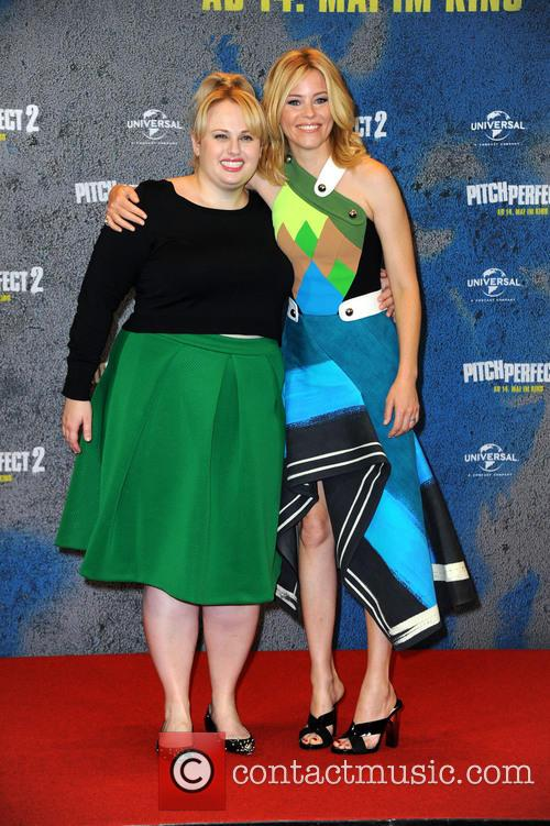 Rebel Wilson and Elizabeth Banks 10