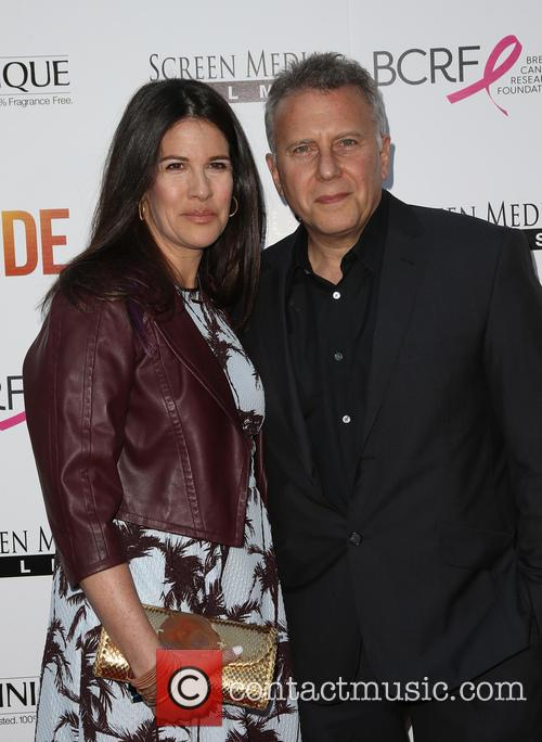 Paula Ravets and Paul Reiser