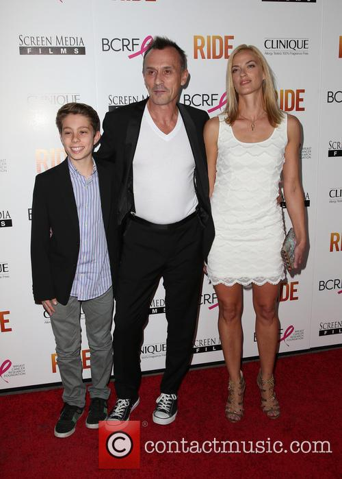 Robert Knepper, Nadine Kary and Benjamin Knepper 6