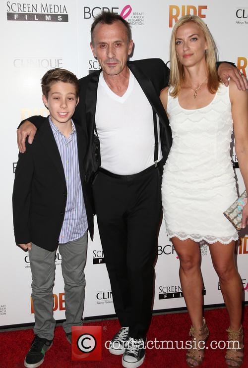 Robert Knepper, Nadine Kary and Benjamin Knepper 1