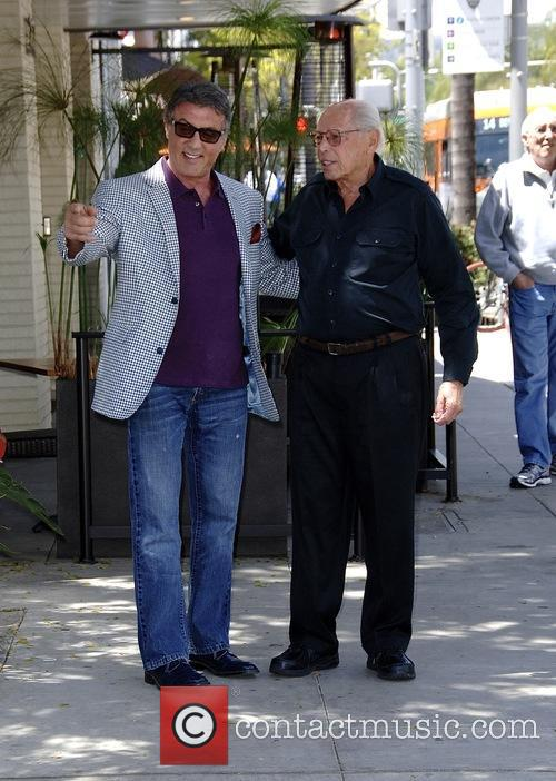 Sylvester Stallone goes to The Palm Restaurant in...