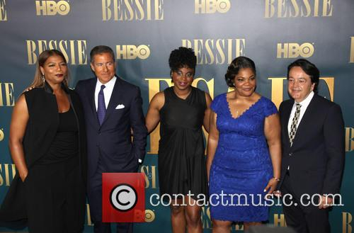 L To R, Queen Latifah, Richard Plepler, Dee Rees, Mo'nique and Len Amato 2