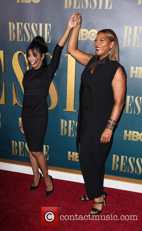 Khandi Alexander and Queen Latifah 1