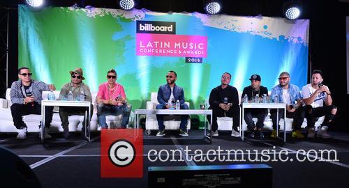 J Alvarez, Plan B, Maldy, Alex Sensation, J Balvin, Nicky Jam, Farruko and Justin Quiles 2
