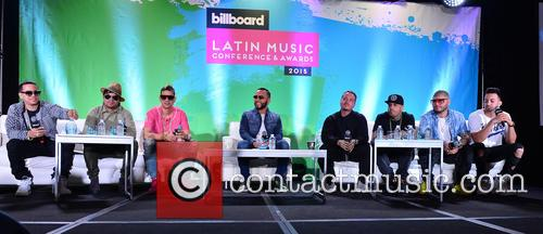 J Alvarez, Plan B, Maldy, Alex Sensation, J Balvin, Nicky Jam, Farruko and Justin Quiles 3