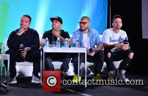 J Balvin, Nicky Jam, Farruko and Justin Quiles 3