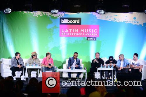 J Alvarez, Plan B, Maldy, Alex Sensation, J Balvin, Nicky Jam, Farruko and Justin Quiles 1