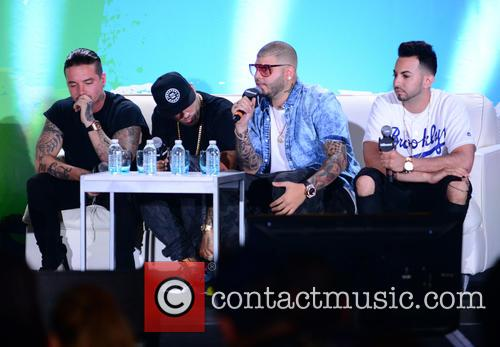 J Balvin, Nicky Jam, Farruko and Justin Quiles 6