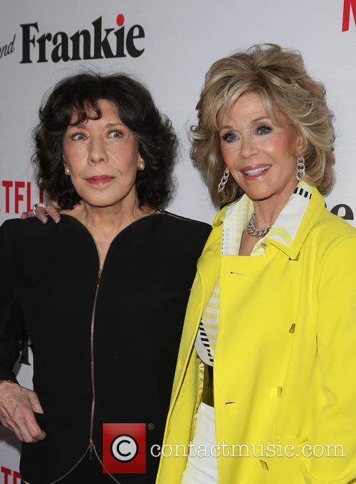 Lily Tomlin and Jane Fonda 1