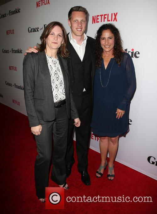 Dana Goldberg, David Ellison and Marcy Ross 2