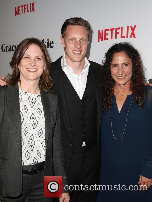 Dana Goldberg, David Ellison and Marcy Ross 1