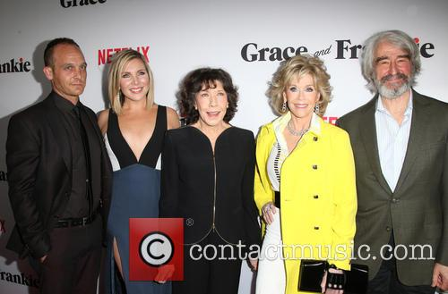 Ethan Embry, June Diane Raphael, Lily Tomlin, Jane Fonda and Sam Waterston 11