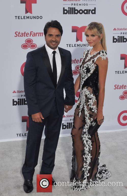 Luis Fonsi and Agueda Lopez 2