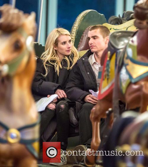 Emma Roberts and Dave Franco