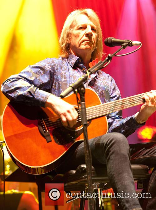 Status Quo performing an acoustic show