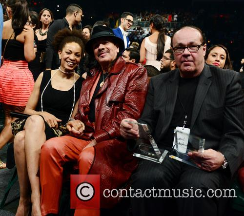 Cindy Blackman-santana and Carlos Santana 2
