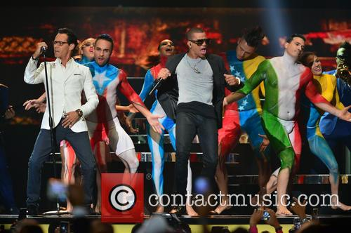 Marc Anthony and Gente De Zona 3