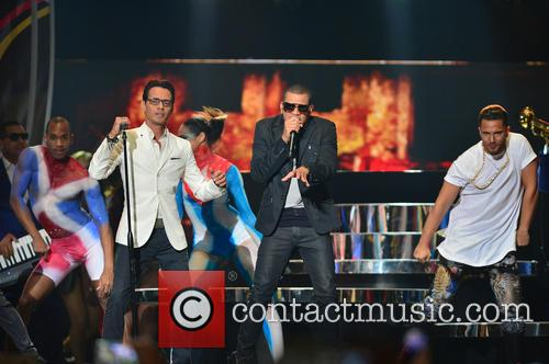 Marc Anthony and Gente De Zona 4