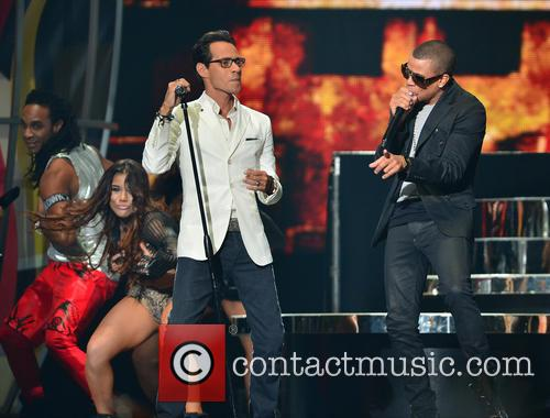 Marc Anthony and Gente De Zona 5