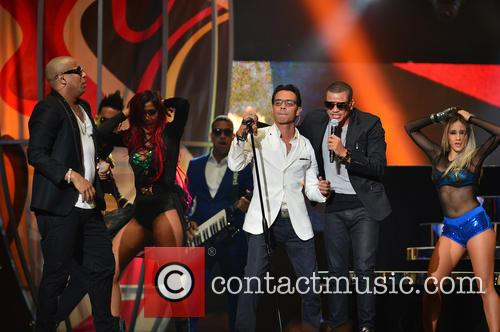 Marc Anthony and Gente De Zona 9
