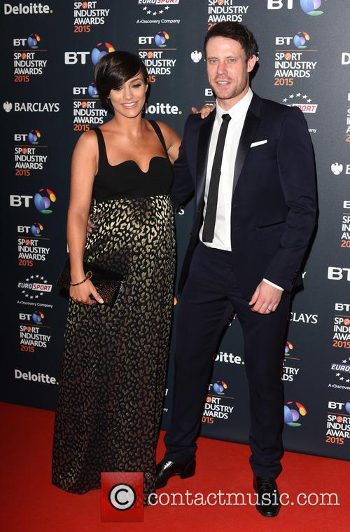 Frankie Bridge and Wayne Bridge 2