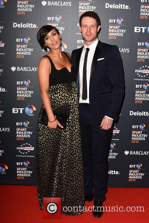 Frankie Bridge and Wayne Bridge 3
