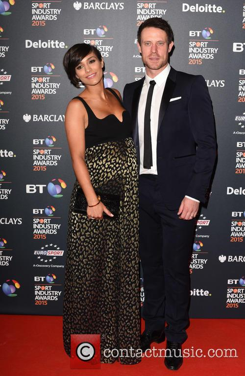 Frankie Bridge and Wayne Bridge 1