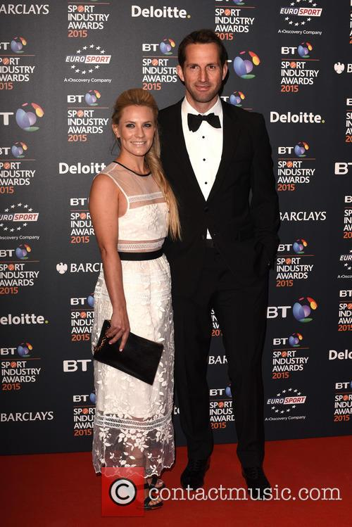 Georgie Thompson and Sir Ben Ainslie 2
