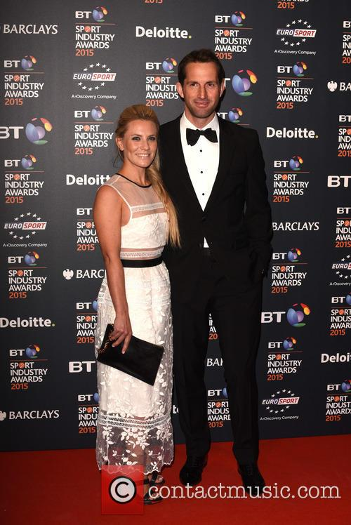 Georgie Thompson and Sir Ben Ainslie 1
