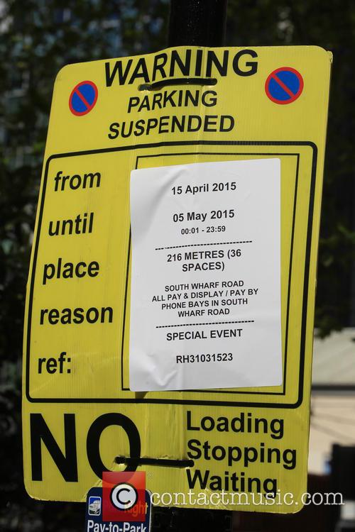Parking Restrictions Outside The Lindo Wing 2
