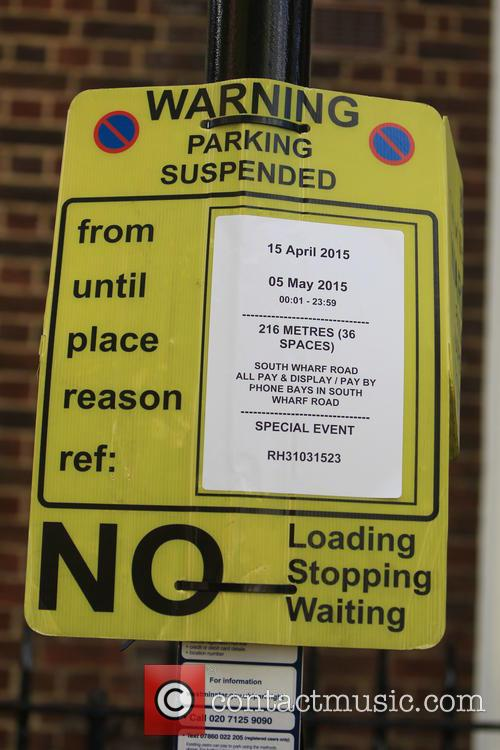 Parking Restrictions Outside The Lindo Wing 1