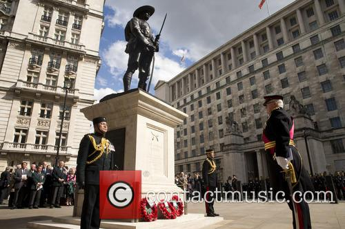 Horse Guards Parade and Memorial Service at the...
