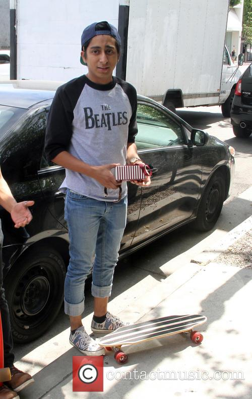 Tony Revolori out and about in Hollywood