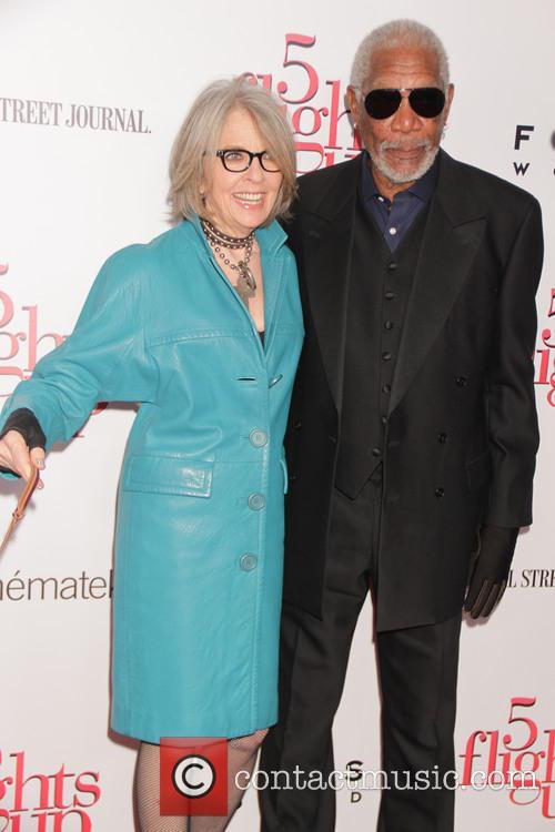 Diane Keaton and Morgan Freeman 3