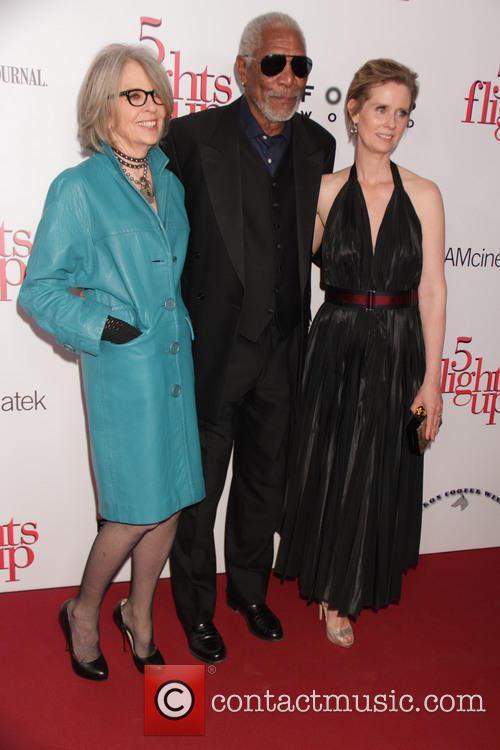 Diane Keaton, Morgan Freeman and Cynthia Nixon 8