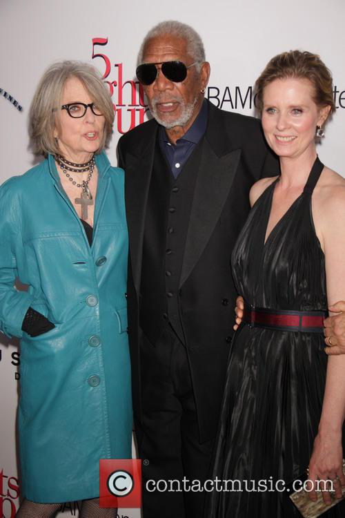 Diane Keaton, Morgan Freeman and Cynthia Nixon